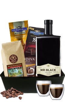 MR BLACK LIQUEUR COLD BREW COFFEE GIFT BASKET