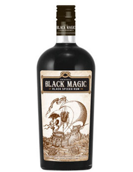 BLACK MAGIC RUM BLACK SPICED