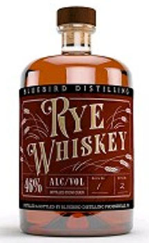 BLUEBIRD DISTILLING RYE WHISKEY