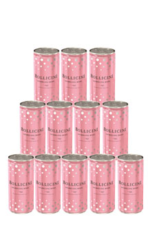 BOLLICINI SPARKLING ROSE - CASE OF