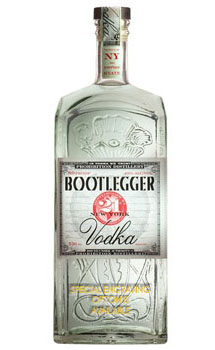 BOOTLEGGER 21 VODKA - CUSTOM ENGRAV