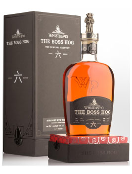WHISTLEPIG BOSS HOG RYE WHISKEY THE SAMURAI SCIENTIST - 750ML