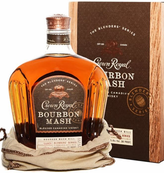 CROWN ROYAL CANADIAN WHISKY BOURBON MASH