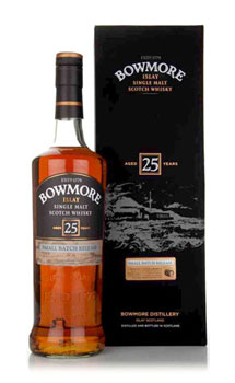 BOWMORE SCOTCH SINGLE MALT 25 YEAR