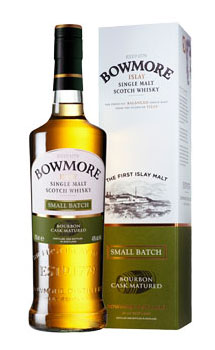 BOWMORE SCOTCH SINGLE MALT SMALL BA