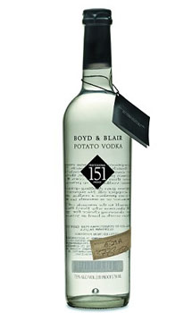 BOYD & BLAIR VODKA POTATO 151 PROOF