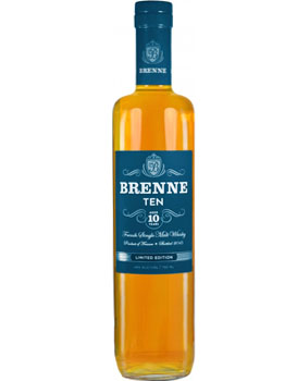 BRENNE WHISKEY SINGLE MALT 10 YEAR