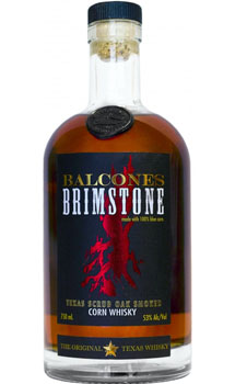 BALCONES TEXAS WHISKEY BRIMSTONE