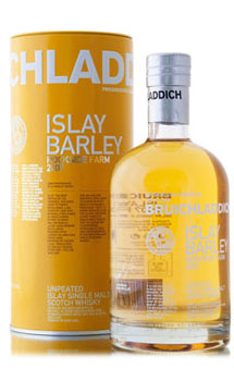 BRUICHLADDICH SCOTCH SINGLE MALT-ISLAY BARLEY 2007 - 750ML