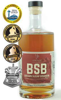 HERITAGE DISTILLING BOURBON BROWN S
