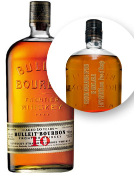 BULLEIT BOURBON WHISKEY 10 YEAR - 7