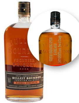BULLEIT BOURBON BARREL STRENGTH - 7