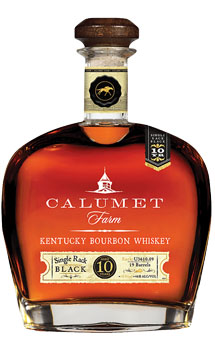 CALUMET FARM BOURBON 10 YEAR SINGLE