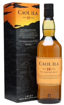 CAOL ILA 18 YEAR OLD SINGLE MALT