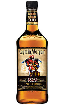 CAPTAIN MORGAN RUM SPICED 100 PROOF