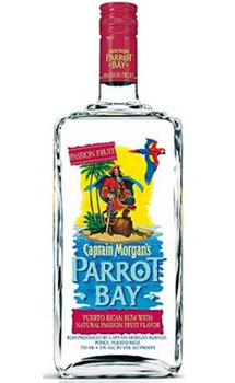 CAPTAIN MORGAN PARROT BAY RUM PASSI