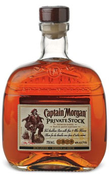 CAPTAIN MORGAN RUM PRIVATE STOCK