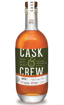 CASK & CREW WHISKEY GINGER SPICE AM