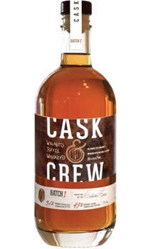 CASK & CREW WHISKEY WALNUT TOFFEE A