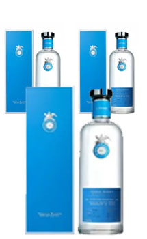 3 BOTTLES OF CASA DRAGONES TEQUILA BLANCO - 375ML