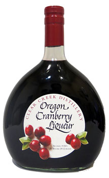 CLEAR CREEK LIQUEUR OREGON CRANBERR