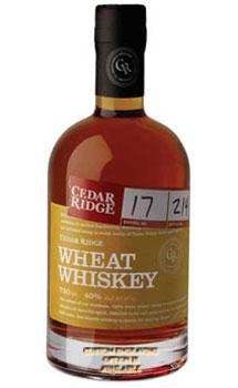 CEDAR RIDGE WHEAT WHISKEY - CUSTOME