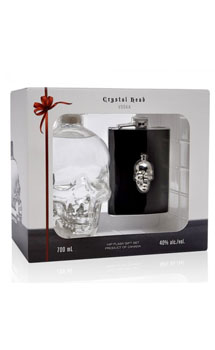 CRYSTAL HEAD VODKA WITH FLASK