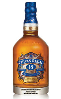 CHIVAS REGAL 18 YEAR OLD SCOTCH - CUSTOM ENGRAVED