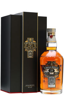 CHIVAS REGAL 25 YEAR OLD SCOTCH