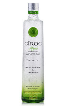 CIROC APPLE VODKA - CUSTOM ENGRAVED