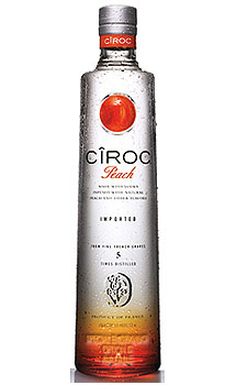 CIROC PEACH VODKA - CUSTOM ENGRAVED