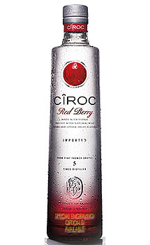 CIROC RED BERRY VODKA - CUSTOM ENGR