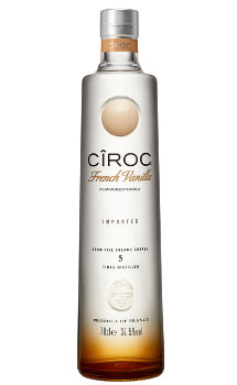 CIROC VODKA FRENCH VANILLA - 750ML