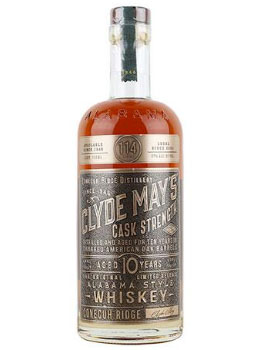 CLYDE MAY'S BOURBON 10 YEAR CASK ST