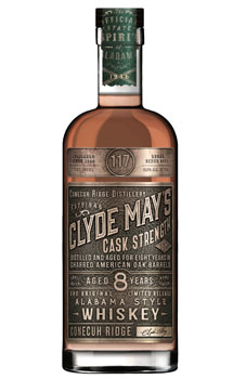 CLYDE MAY'S CASK STRENGTH 8 YEAR OL