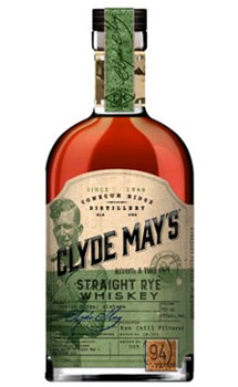 CLYDE MAY'S WHISKEY RYE