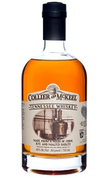 COLLIER AND MCKEEL TENNESSEE WHISKE