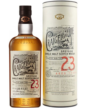 CRAIGELLACHIE SCOTCH SINGLE MALT 23