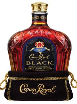 CROWN ROYAL CANADIAN WHISKY BLACK