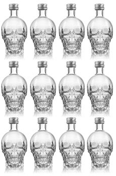 CRYSTAL HEAD VODKA - 50ML - 12 PACK