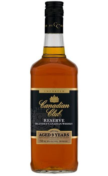 CANADIAN CLUB CANADIAN WHISKY 9 YEA