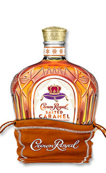 CROWN ROYAL CANADIAN WHISKY SALTED CARAMEL