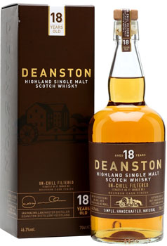 DEANSTON SCOTCH SINGLE MALT 18 YEAR
