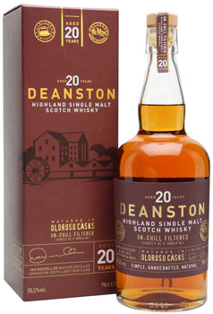 DEANSTON SCOTCH SINGLE MALT 20 YEAR