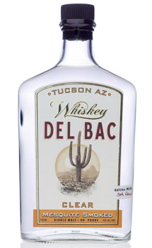 DEL BAC WHISKEY MESQUITE SMOKED CLEAR