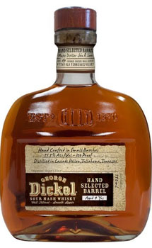 GEORGE DICKEL WHISKY HAND SELECTED