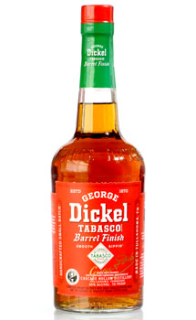 GEORGE DICKEL WHISKEY TABASCO BARREL FINISH