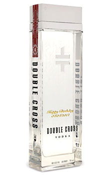 DOUBLE CROSS VODKA - CUSTOM ENGRAVE