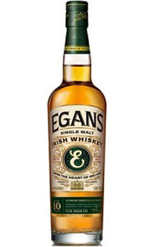 EGAN'S IRISH WHISKEY SINGLE MALT 10