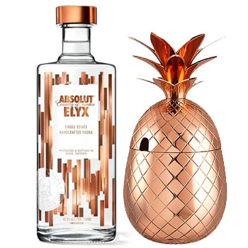 ABSOLUT ELYX GIFT SET WITH COPPER P